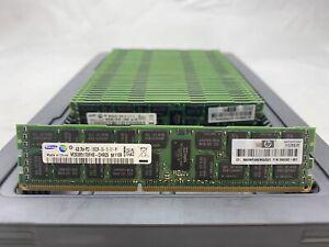 LOT 36 HP 500203-061 SAMSUNG 4GB DDR3 PC3-10600R 1333MHZ ECC REG DIMM MEMORY RAM