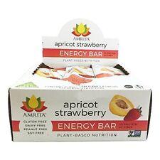 Paleo Apricot Strawberry Energy Bars-Gluten-Free, Soy-Free, Dairy-Free, Kosher
