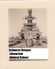 schwerer Kreuzer Lützow / Admiral Scheer ? Geschützturm  Kriegsmarine  #26