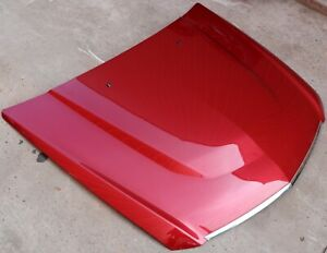 2009-2015 Cadillac CTS-V Crystal Red Metallic Factory Hood USED OEM GM