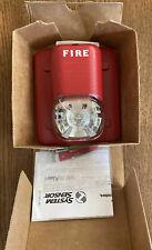 System Sensor S1224mc Spectralert Selectable Output Wall Red Fire Alarm Strobe