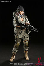 VERYCOOL VCF2026 1:6 ACU Camo Woman Shooter Female Action Figure Model NEW