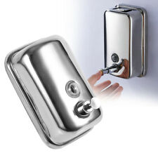 Bathroom Stainless Steel Soap/Shampoo Dispenser Lotion Pump Action Wall Mounted