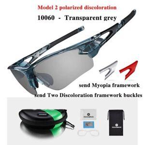 ROCKBROS Polarized Goggles Cycling Glasses Outdoor Sports MTB Bike Sunglass