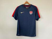 USA Training Soccer Jersey 2011 Nike Dri Fit Men's Smal USMNT olympics World Cup