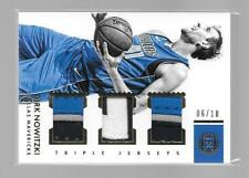 DIRK NOWITZKI 2017-18 PANINI ENCASED 6/10 TRIPLE PATCH