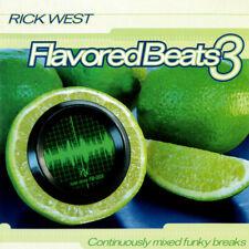 VARIOUS FLAVORED BEATS 3 CD DJ RICK WEST NEW