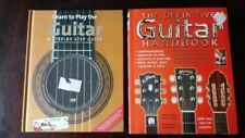 2 Instructional Guitar Books Learn to Play and The Definitive Guitar Handbook