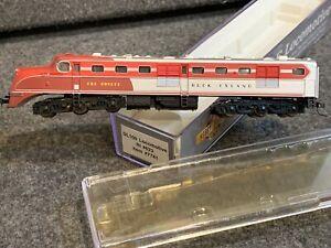 N Scale Walthers DL109 Locomotive Rock Island #623 RI 7741 The Rocket