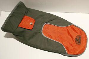 "MyPet BlackDoggy Reflective Breathable Mesh Dog Rain Coat Jacket - Small 13"""