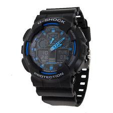Casio Sport G SHOCK Mens Analog-Digital Black Watch GA-100-1A2ER