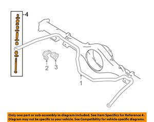 MITSUBISHI OEM 97-99 Montero Sport Stabilizer Sway Bar-Rear-Link MR344624
