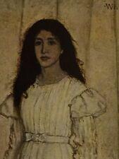Whistler National Gallery Of Art Print Of The White Girl