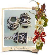 ♥ spacer bead charm carrusel caballos European tíbet plata plata ♥ pbs067