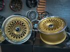 New 18 5x112 Rotiform Style Stance Deep Dish Gold Wheels For Bmw Audi Mercedes