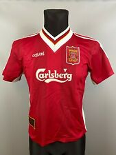 LIVERPOOL 1995/1996 HOME FOOTBALL SOCCER JERSEY SHIRT ADIDAS BOYS SIZE Y