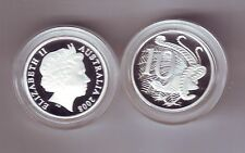 2008 SILVER Proof 10 Cent Lyrebird Coin Australia ex Fine Silver Set **