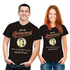 Markenlose bequem sitzende Herren-T-Shirts aus Baumwollmischung mit Motiv