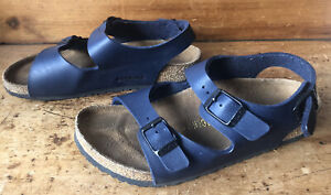 Birenstock Birko-Flor Boys Sandals Size 33 Uk Size 1