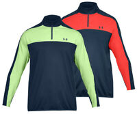 Under Armour EU Midlayer 1/4 Zip Pullover - RRP£60 - S M L XL XXL 3XL - Navy