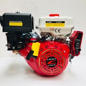 "LIFAN 13HP ELECTRIC START LF390QE-PRO HEAVY DUTY ENGINE REPLACES HONDA GX390 1"""