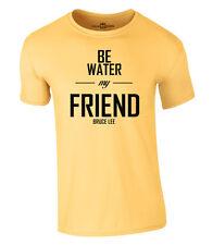 Bruce Lee Be Agua My Friend Camiseta Dragón Nuevo S-XXL
