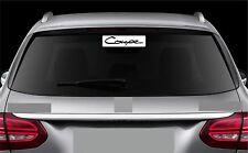Rear Window Sticker fits Hyundai Coupe Vinyl Decal Emblem Sticker Logo RW21