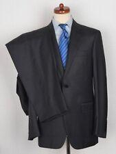 NEUWERTIG Canali 1934 Anzug Suit Gr 50 Grau Grey Flannel Wolle Wool Made Italy