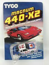 New listing TYCO Magnum 440-X2 No. 21 Citgo Stock HO Slot Car 8902