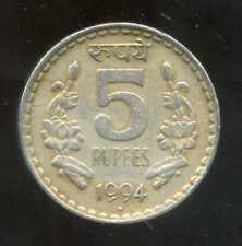 INDE 5 rupees  1994