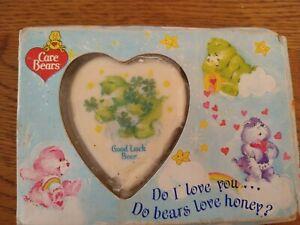 Vintage care bear soap still in packaging - good luck bear