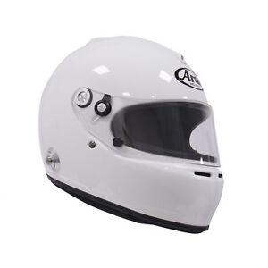 Arai GP-5K White XS SA2005 Car Racing Helmet