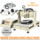 USB 800W 5 Axis 3040 CNC Router Engraver Drilling Milling Machine + Handwheel US