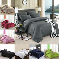 1800 COUNT DEEP POCKET 4 PIECE BED SHEET SET 7 COLORS KING TWIN QUEEN ALL SIZE
