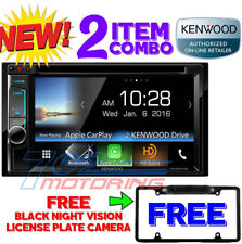 NEW KENWOOD DDX6703S APPLE CAR PLAY / ANDROID  + FREE BLACK CAMERA