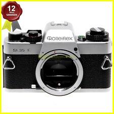 Fotocamera Rollei Rolleiflex SL35 E Silver reflex a pellicola usata SL 35 camera