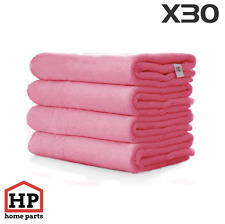 30 X Professional Washable Microfibre Cloths Extra-Large Super Thickness Pink