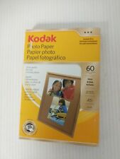 KODAK PHOTO PAPER GLOSS 60 SHEETS