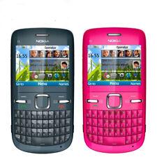 NEW Nokia C3-00 wifi Qwerty Keypad Unlocked Genuine Mobile Phone