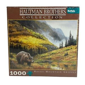 Buffalo Games Hautman Brothers Rocky Mountain Grizzly Bear Puzzle New Sealed