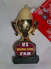 #1 Arizona State Fan Team Trophy ASU Christmas Ornament Sun Devils Sparky
