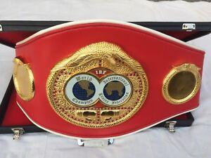 IBF International Boxing Federation boxing Replica Belt with free box