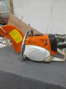 Stihl TS700 Gas Powered 14 Inch Blade 98.5 cc Cutquik Concrete Cut Off Saw
