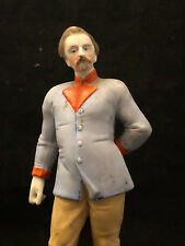 Statuette Biscuit Polychrome Homme Antique French 19th