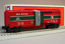 LIONEL 6464 GN CHRISTMAS BOXCAR great northern o gauge train holiday 6-27948