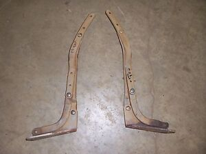 1965-1968 Chevrolet Impala Belair wagon interior 2nd seat hinge set folding
