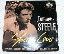 """Tommy  Steele  Young Love  EP /  Doomsday  Rock / Wedding / Rock  1957   7"""""""