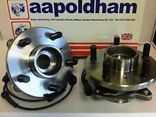 LAND ROVER DISCO DISCOVERY 2.5 TD5 DIESEL 98-04 2x NEW FRONT WHEEL BEARING /HUBS