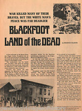 Indian Agent John W. Young - Blackfoot - Land Of The Dead