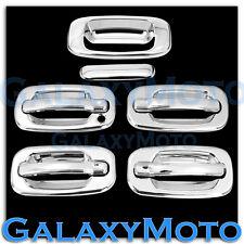 99-06 Chevy Silverado Chrome 4 Door Handle+W/O Passenger Keyhole+Tailgate Cover